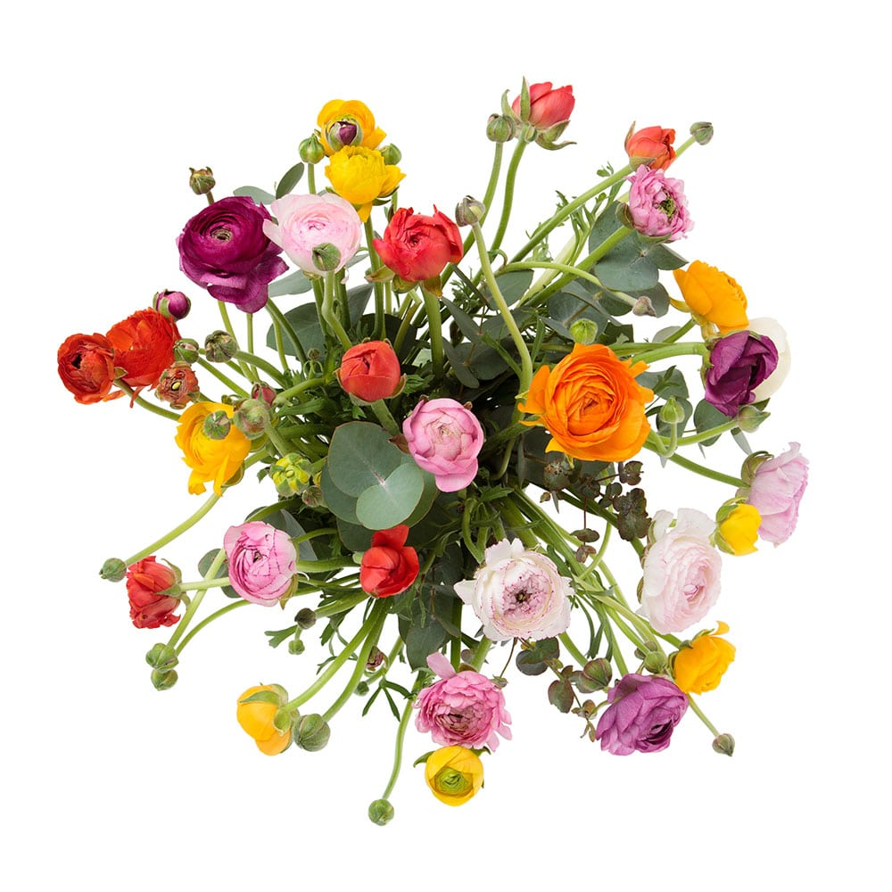Blumenstrauß regional