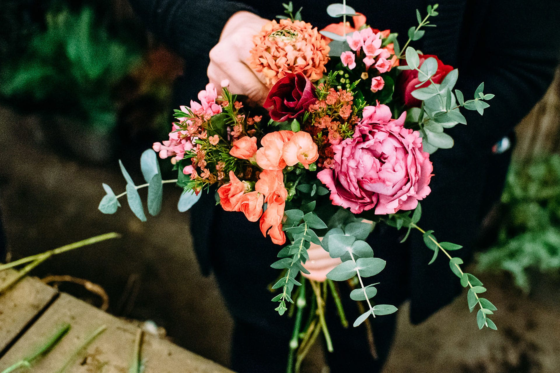 Stilvolle Hochzeitsfloristik – Blumenarrangements und Brautstrauß kaufen