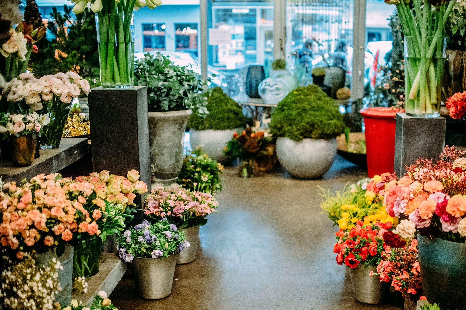 Blumen für die Hochzeit – Florist