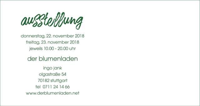 Winterwald Weihnachtsaustellung Blumenladen Stuttgart