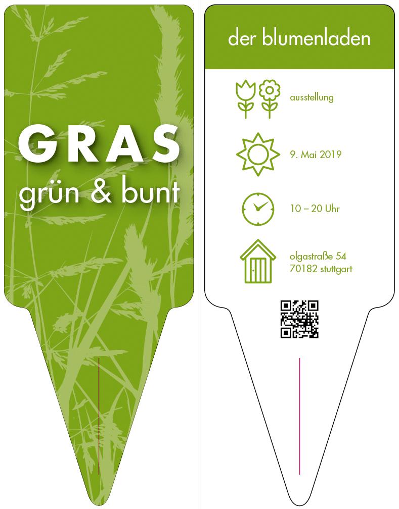 Frühlingsausstellung Gras