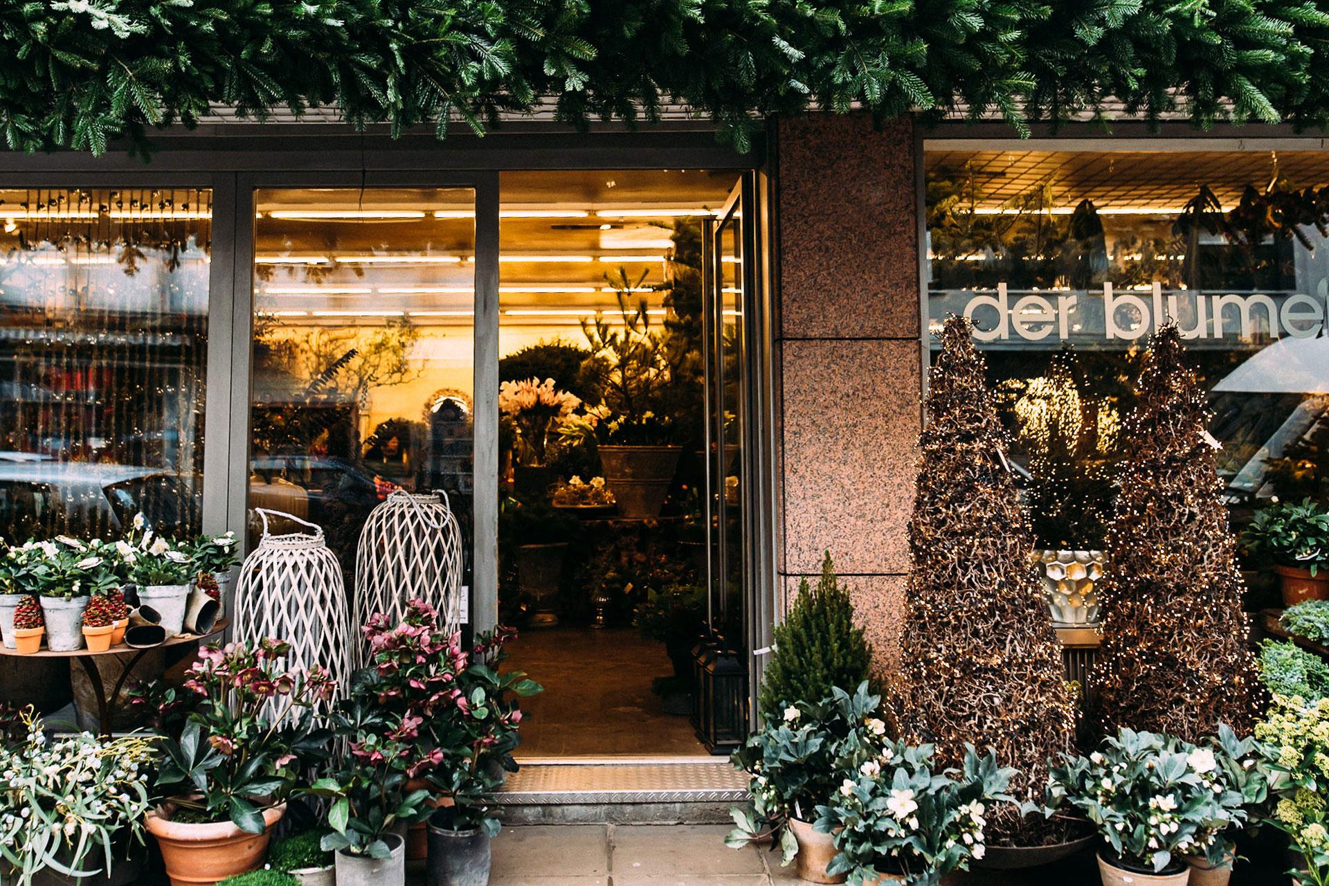 Stuttgarter Blumenladen Weihnachtsdekoration