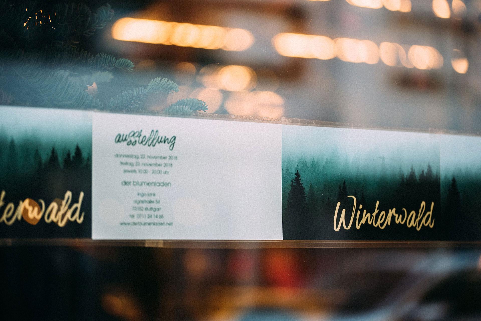Winterwald Ausstellung