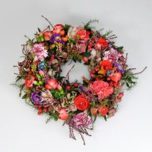 Blumenkranz Durchmesser ca. 35 cm
